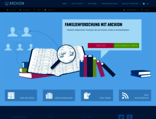 archion.de screenshot