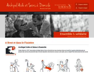 archipel-aide-et-soins-a-domicile.fr screenshot