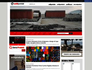 archiportale.com screenshot