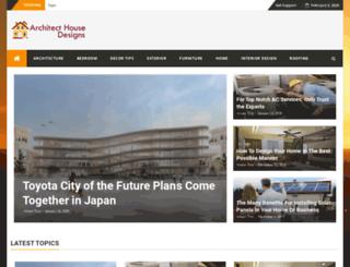 architecthousedesigns.com screenshot