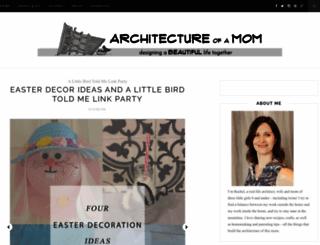 architectureofamom.com screenshot