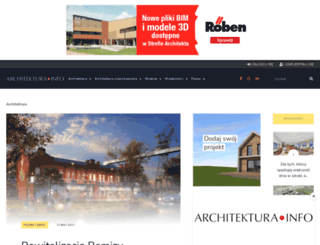 architektura.info screenshot