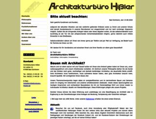 architekturbuero-hissler.de screenshot