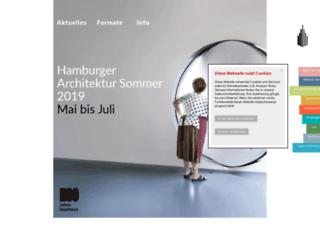architektursommer.de screenshot