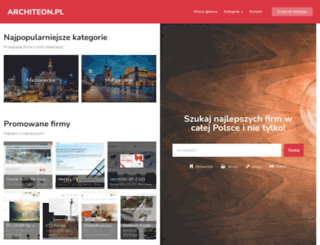 architeon.pl screenshot