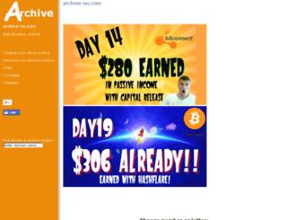 archive-no.com screenshot