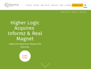 archive.informz.com screenshot