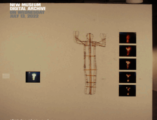 archive.newmuseum.org screenshot