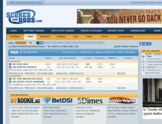 archive.scoresandodds.com screenshot