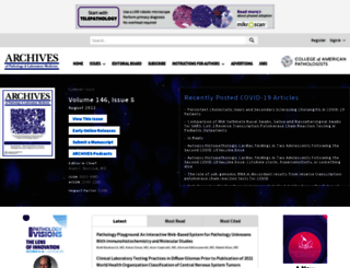 archivesofpathology.org screenshot