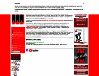 archiviomovimenti.org screenshot