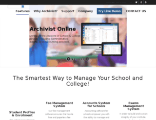 archivistonline.com screenshot