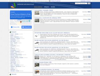 archiwumallegro.com.pl screenshot