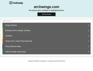 archwings.com screenshot