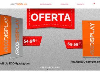 arcodisplay.com screenshot