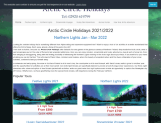 arctic-circle-holidays.com screenshot