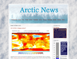 arctic-news.blogspot.is screenshot