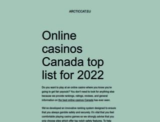 arcticcat.eu screenshot