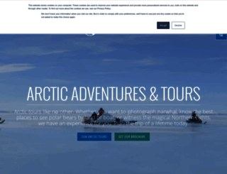 arctickingdom.com screenshot