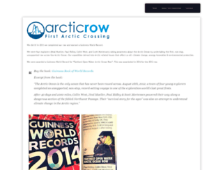 arcticrow.com screenshot