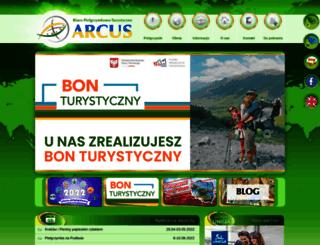 arcus.org.pl screenshot