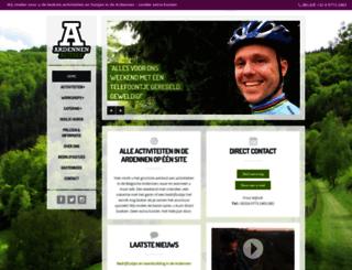 ardennenactief.com screenshot