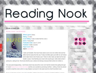 areadingnook.com screenshot