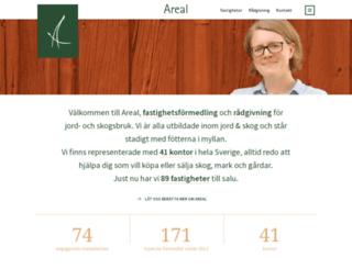areal.se screenshot