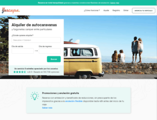 areavan.com screenshot