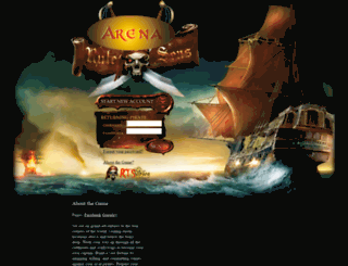 arena.ruletheseas.com screenshot