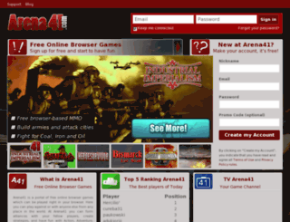 arena41.com screenshot