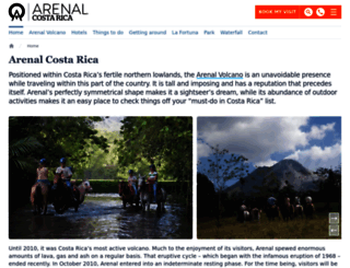 arenal.net screenshot