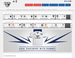 arenaleague.com screenshot