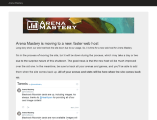 arenamastery.com screenshot