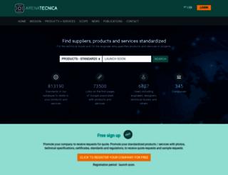 arenatecnica.com screenshot