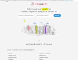arequipa.infoisinfo.com.pe screenshot