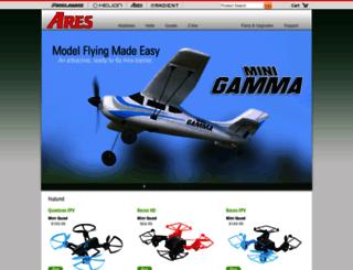 ares-rc.com screenshot