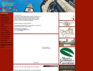 arezzoturismo.com screenshot
