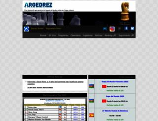 argedrez.com.ar screenshot