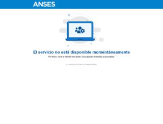 argenta.anses.gob.ar screenshot