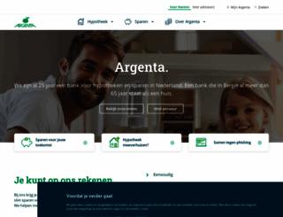 argenta.nl screenshot