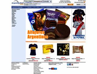 argentinamall.com screenshot