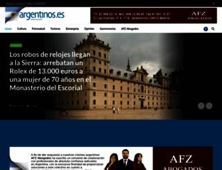 argentinos.es screenshot