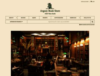 argosybooks.com screenshot