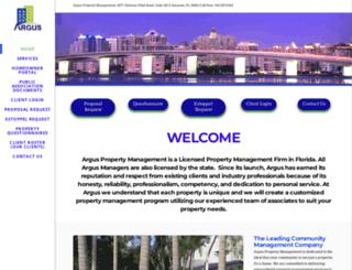 argusmgmt.com screenshot