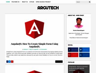 argutech.blogspot.com screenshot