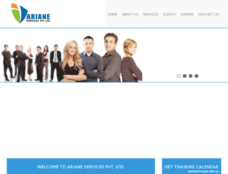 arianeco.biz screenshot