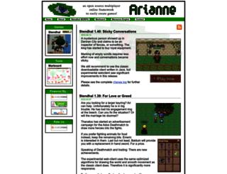 arianne.sourceforge.net screenshot
