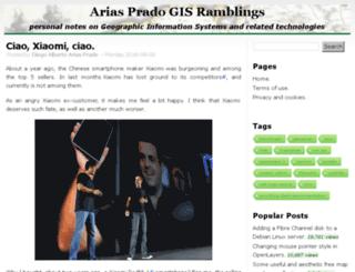 ariasprado.name screenshot