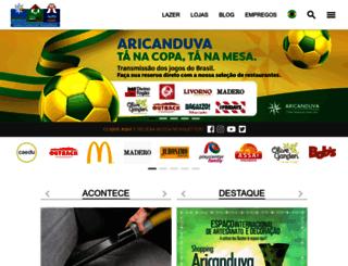 aricanduva.com.br screenshot